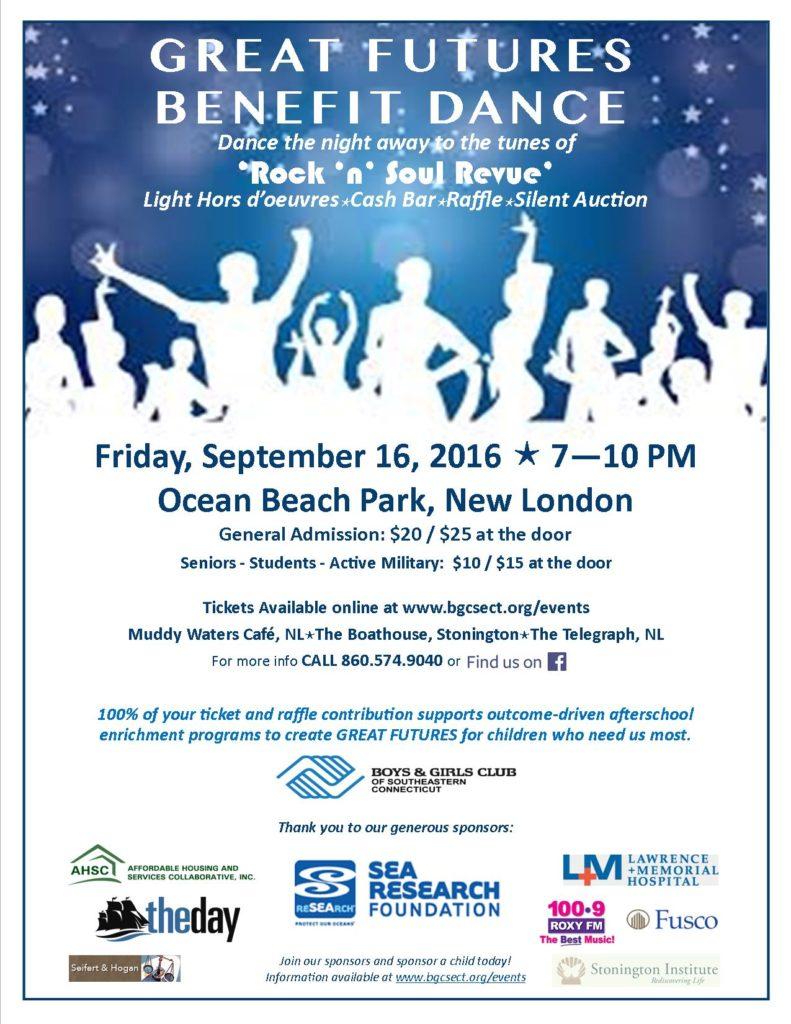BGCSECT Dance Flyer 2016.09.16 - 7-10 PM - Ocean Beach Park 2016.08.15