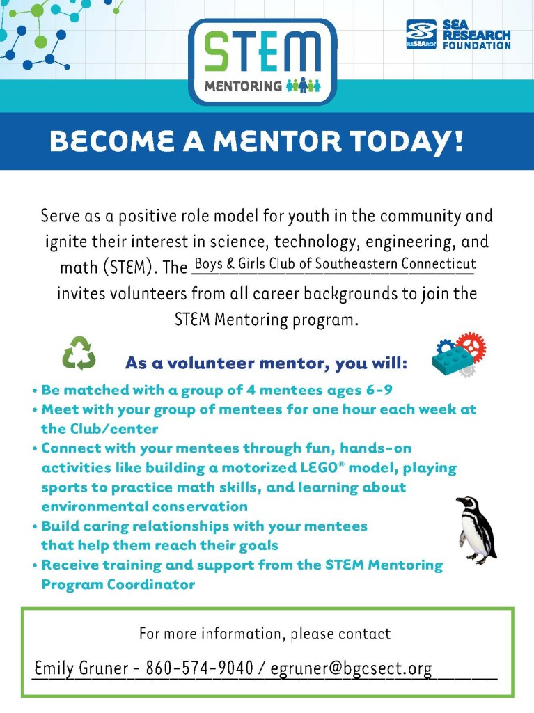 BGCSECT STEM Mentor Recruitment Flyer